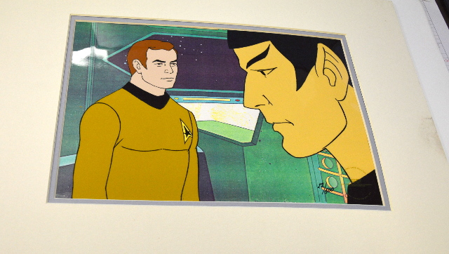 Star Trek Original Hand-Painted LE, animation cel, 22/500.  With Cert of Authenticity.