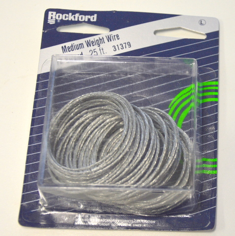 Rockford 25' Strand Medium Wire #31379 - For home, crafting, agriculture, mechanics.