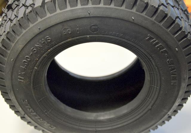Carlisle 11 x 4.00-5NHS - Turf Saver - New - for John Deer Rear Engine Rider
