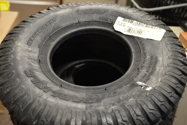 Carlisle Turf Master Tire-15 x 6.00-6NHS, Yard Tire. 511621