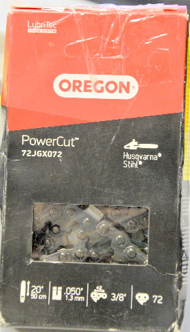 "Oregon Power Cut 72JGX072 - 20"" 3/8"" use with Stihl and Husqvarna - Open Box"