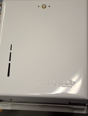 San Jamar True Fold White Towel Dispenser #T1905WH