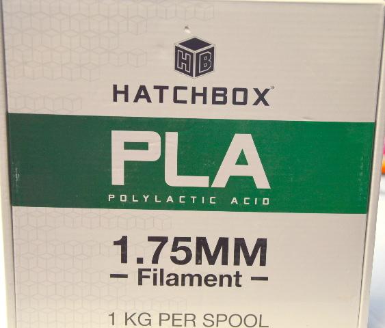 Hatchbox 3D PLA(Polylactic Acid) 1.75 Printer Filament - 1 Spool - White