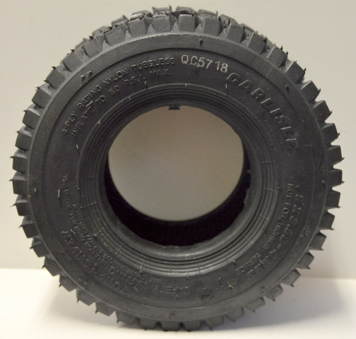 "Carlisle Turf Save Lawn & Garden Tire 9"" x 3.50-4 Sawtooth - no rim"