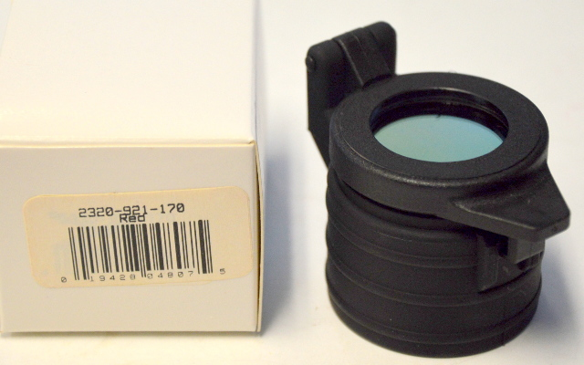 Pelican Red Filter Flip Cap for M6 Tactical Light #2320-921-170