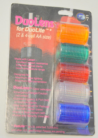 Duolens replacement Lens for Duolens Vintage Flashlight - several colors