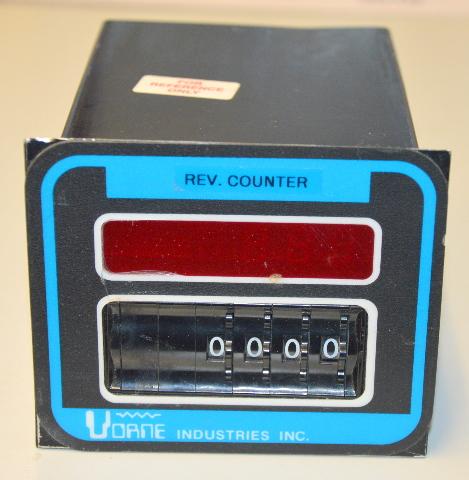 Vorne Industries Counter 4 Digit Preset  - 215-61-SH-R