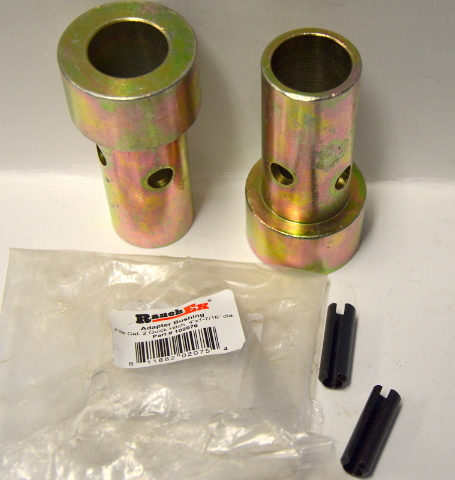 "RanchEx #102076 Quick Hitch Adapter Bushing Kit - Cat 2. 4""x1 7/16"" dia."