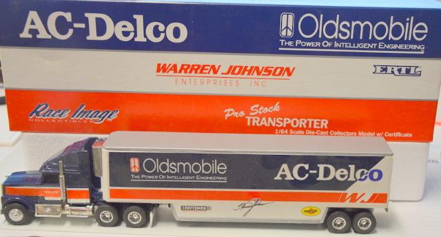 Race Image 1:64 Scale Die Cast Pro Stock Transporter Warren Johnson #2991