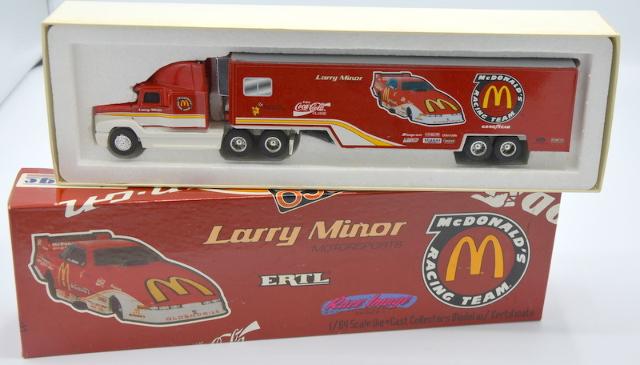 Ertl 1994-Larry Minor Motorsports-1:64-McDonalds Race Team Freightliner