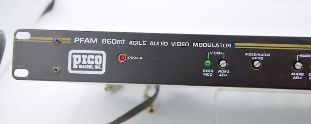 Pico Macom, Inc. PFAM 860mt-Agile, Audio, Video Modulator