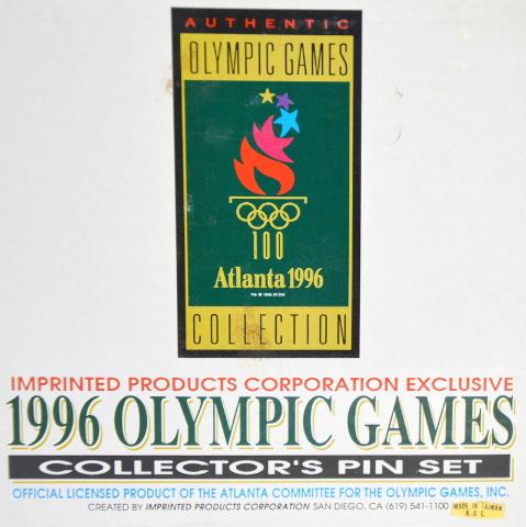 1996 Olympic Games Pin Set - Athens 1896 to Atlanta 1996 LE 8,477/10,000