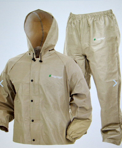 frogg Toggs - New - Store Return - Light Brown - Size Large  - Pro Lite Suit