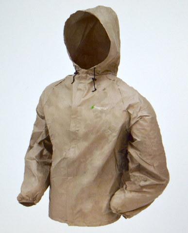 frogg toggs - New - Ultra-Lite Jacket - Khaki - 2X - #UL6204-04