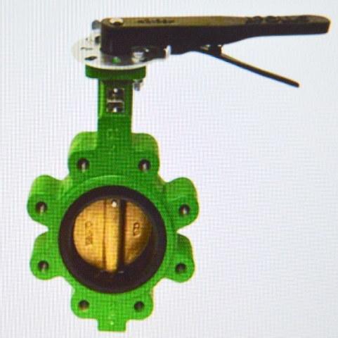 "2 1/2"" Butterfly Valve - Cast Iron #LC149251 - Apollo Intl. Valves - New."