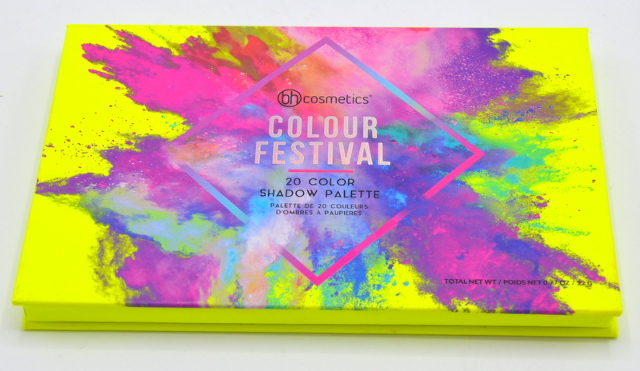 bh cosmetics Colour Festival - 2- color eyeshadow palette - BH-1000-113
