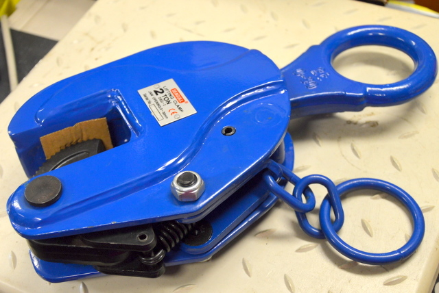 Seagull 2 Ton Vertical Lifting Clamp  #DSQ-2 Jaw opening 0-30mm