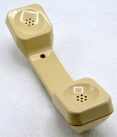 Telephone Replacement Handset - Cream Color - New.