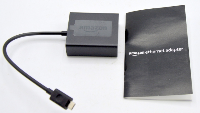 Amazon Ethernet Adapter for Amazon Fire TV Devices(not compatible w/1st gen fire stick)