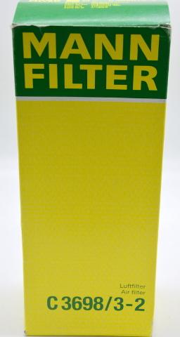 Mann Air Filter Set C3698/3-2  Luttfilter Air Filter for Mercedes-Benz