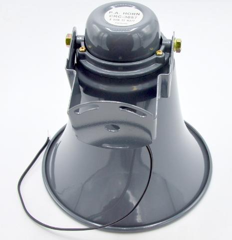 P.A.Horn #CRC-3057, 8 OHM-25 Watt.  New.  Color: Gray.