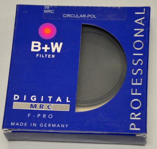 B+W Filter 58 MRC F-PRO Professional  -Circular-POL #44840