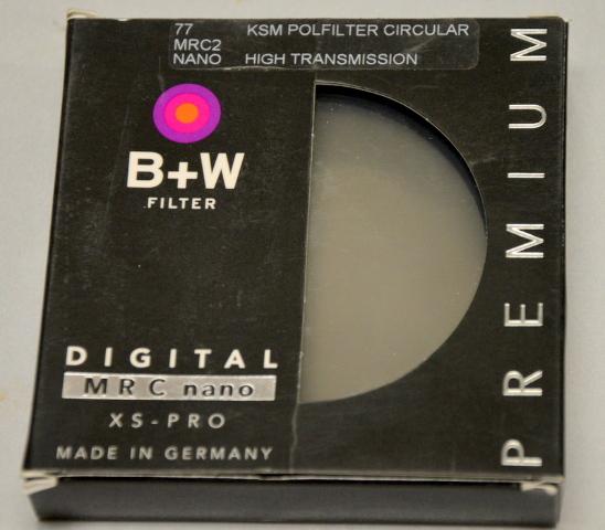 B+W 77 MRC2 NANO High Transmission, KSM Polfilter Circular xs-Pro  #836083E+