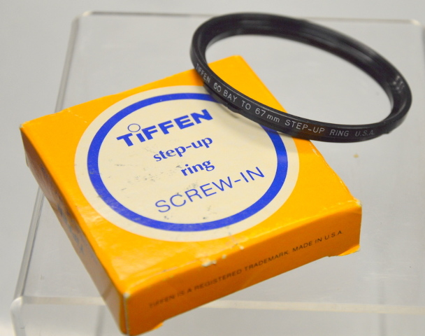 Tiffen Step-Up Ring 60 to 67mm - Screw-In.