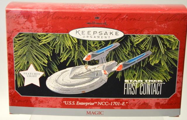 "Hallmark Keepsake Ornament ""U.S.S. Enterprise NCC-1701-E""   Magic. #07633"