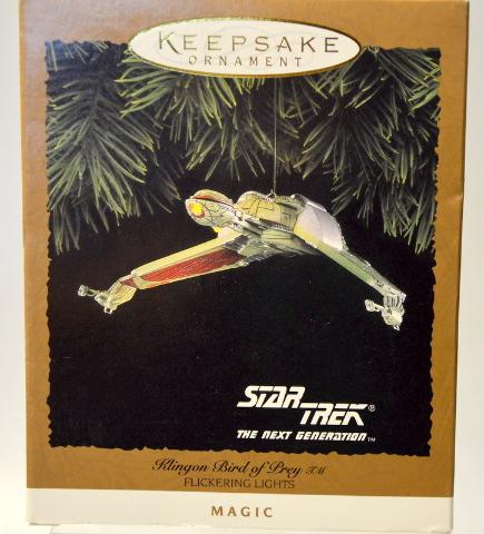 "Hallmark Keepsake Ornament Star Trek""Klingon Bird of Brey - Magic #07386"