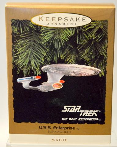 Hallmark Keepsake Ornament U.S.S. Enterprise - Magic - Blinking light.  #07412
