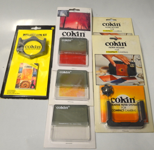 Cokin Creative Square Filter System: Manual, Instruction kit, 3 Filters. #55