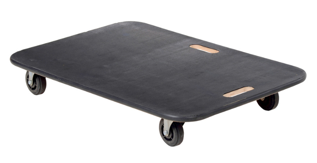 "Fiberwood Dollie FWD-2436-4PP 24x36"" Deck, 4 Swivel Wheels."