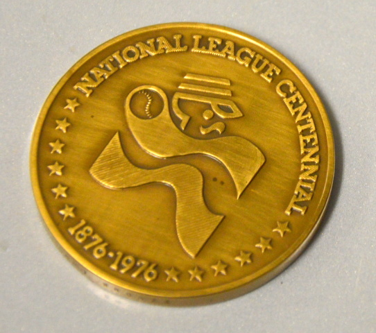 National Baseball League  Coin 1976-1976 - 100 Years of Baseball