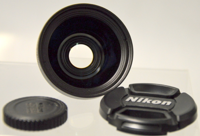 Nikon LC-ER1 Wide Converter Lens WC-E67 0.67x & LC and  Front and Back Cap