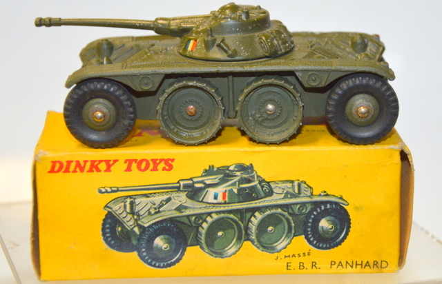 Dinky Toys Vintage 80A  - E.B.R. Panhard Meccano  in original box.