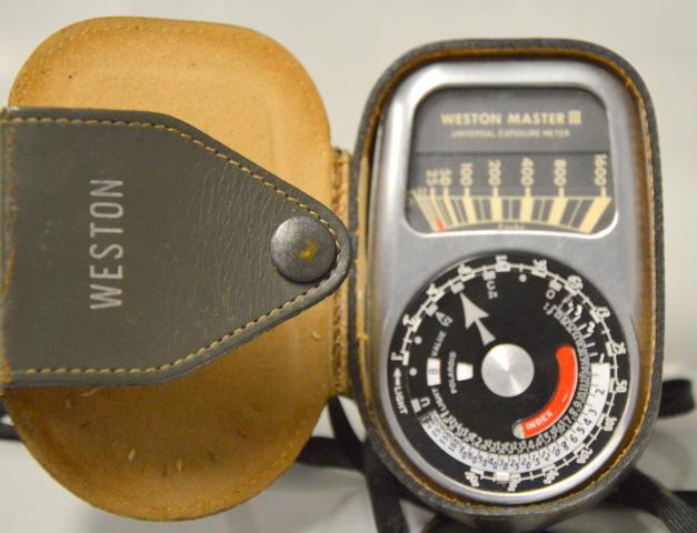 Weston Master III Universal Exposure Meter Model 737 with case