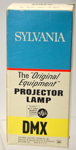 "Sylvania ""DMX"" Projector Lamp for Movie and Still Projectors -New Old Stock"
