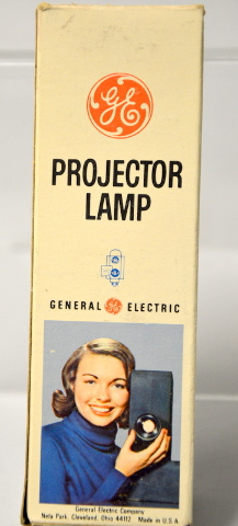 """GE """"CZX"""" 500W - 120V, Prodector Lamp, will replace DAB. New Old Stock"""