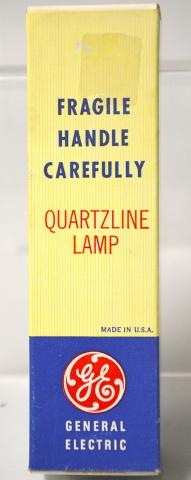 "GE ""DWY"" 650W - 120V Quartzline Lamp - New Old Stock"