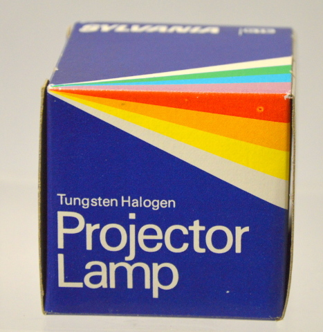 "Sylvania ""EXR""  300W -82V - Projector Lamp Tungsten Halogen - New old stock."