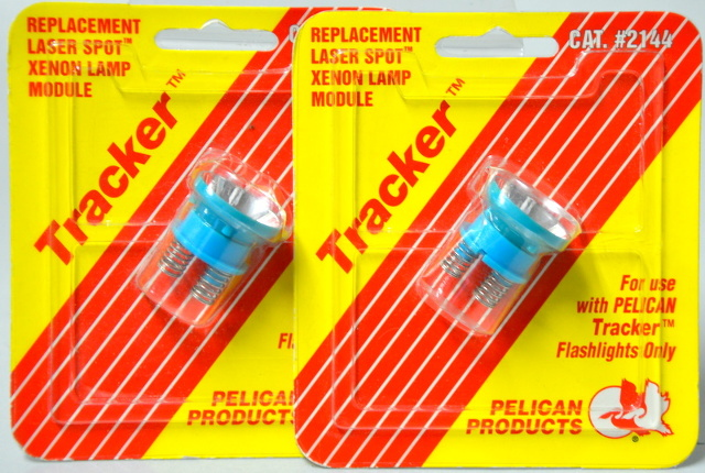 2 - Pelican #2144 Replacement Laser Spot for  Tracker Flashlights Only - Yellow/Red