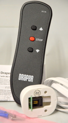 Draper Lift IR Transmitter & Receiver Kit  - Came out of working invironment.