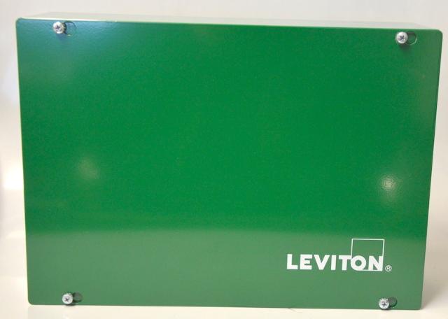 Leviton REV16-110 GreenMax Remote Low-Voltage Input Cabinet 100-277 VAC