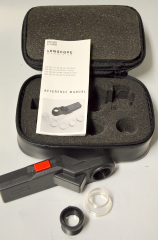 Bausch & Lomb Lenscope Illuninated Magnifier - Used, no extra lenses.