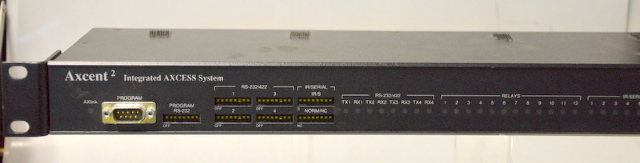 AMX Axcent 2 Integrated Axcess System Master Controller.