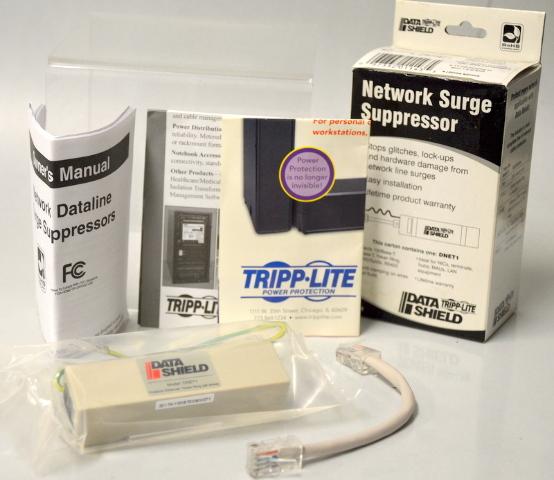 Tripp-Lite Datat Shield Network Surge Suppressor Model: DNET1Tripp-Lite Datat Shield Network Surge Suppressor Model: DNET1