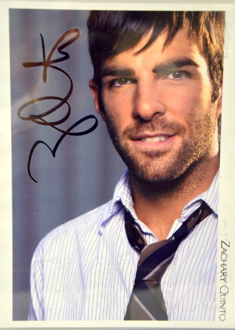Zachary Quinto - Dr. Spock in Star Trek Movie - Signed Photograph - #CE-Z03
