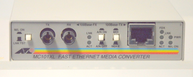 Allied Telesyn Intl. MC101XL Fast Ethernet Media Converter