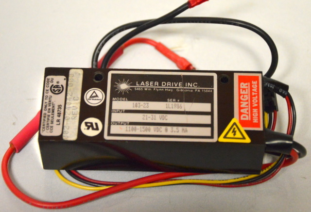 DC Laser Power Supply Model 103-23 Ser# 1L1986 - 21-31 VDC
